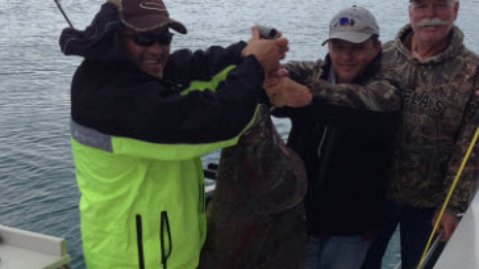 Pastor Ron Jones – Eldorado Kansas – Halibut in Alaska – cropped